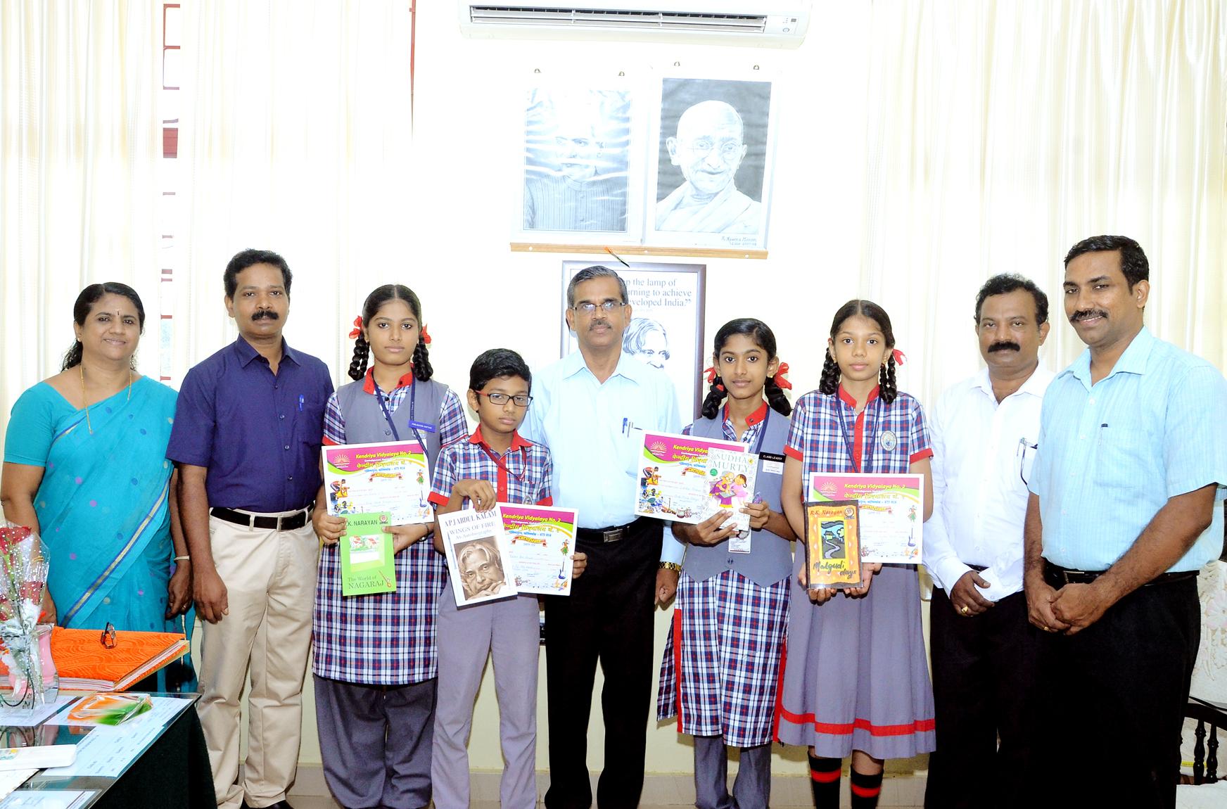 prize winners | Library @kv2 Calicut